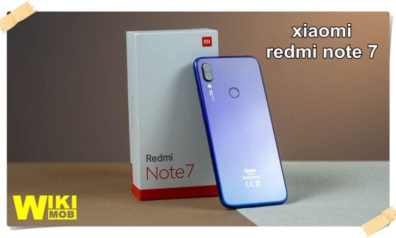 xiaomi redmi note 7 سعر ومواصفات