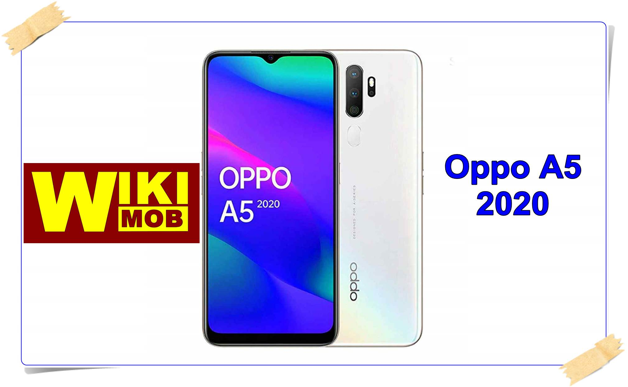 Photo of Oppo A5 2020