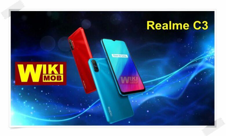Realme C3 سعر ومواصفات