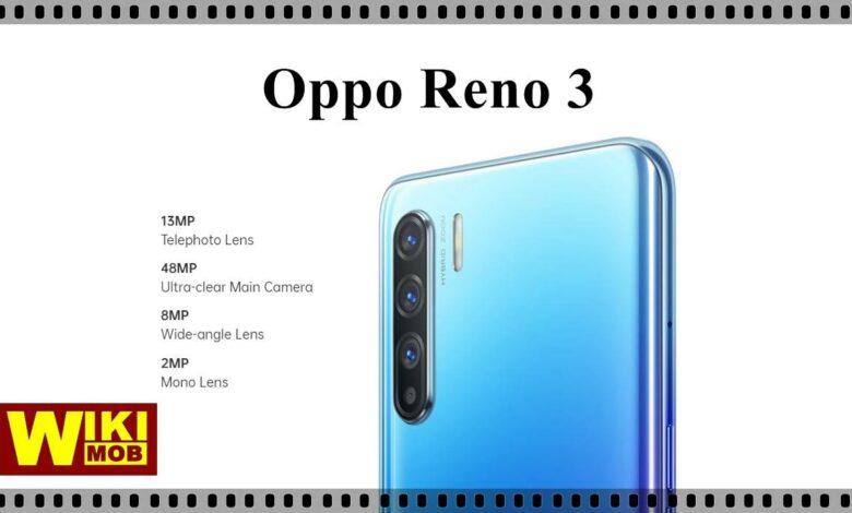 Oppo Reno3 سعر ومواصفات