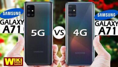Photo of مقارنة بين سامسونج ايه 71 و Samsung Galaxy A71 5G