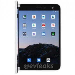 موبايل مايكروسوفت القابل للطي Surface Duo