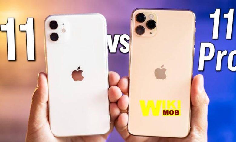 مقارنة بين ايفون 11 وايفون 11 برو