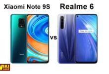 Photo of مقارنة بين شاومي نوت 9 اس و ريلمي 6