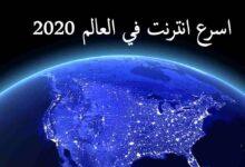 صورة اسرع انترنت في العالم 2020