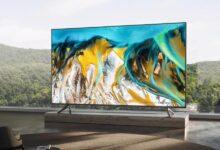 صورة تلفاز جديد وساعة من شاومي