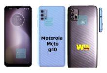 صورة موتورولا موتو جي 40 سعر ومواصفات