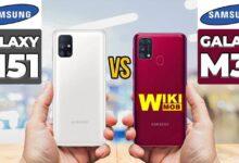 Samsung Galaxy m31 vs Samsung Galaxy m51