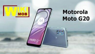صورة موتورولا موتو جي 20 سعر ومواصفات