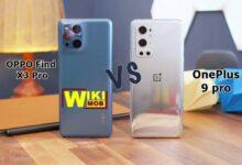 صورة مقارنة بين ون بلس 9 برو و اوبو فايند اكس 3 برو