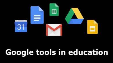 صورة أدوات جوجل في التعليم