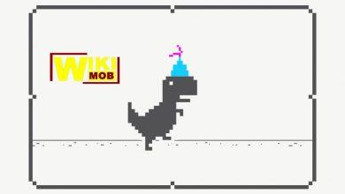 صورة تحميل لعبة ديناصور