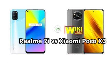 مقارنة بين Poco X3 و Realme 7i