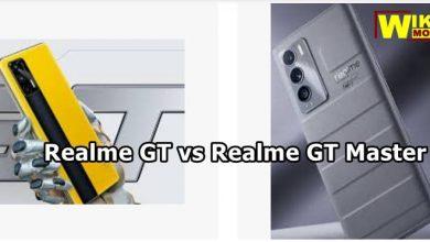 مقارنة بين ريلمي جي تي و ريلمي جي تي ماستر