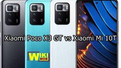 مقارنة بين شاومي بوكو اكس 3 جي تي و شاومي مي 10 تي