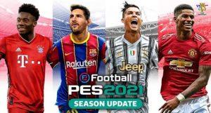تحميل لعبة PES 2021 للأندرويد بدون انترنت و باخر الانتقالات