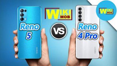 مقارنة بين RENO 5 و RENO 4 PRO