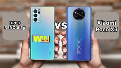 مقارنة بين OPPO RENO 6 5g و Poco X3
