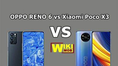 مقارنة بين اوبو رينو 6 و شاومي بوكو اكس 3