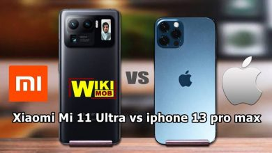 صورة مقارنة بين ايفون 13 برو ماكس و شاومي مي 11 الترا