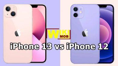 مقارنة بين ايفون 12 و ايفون 13