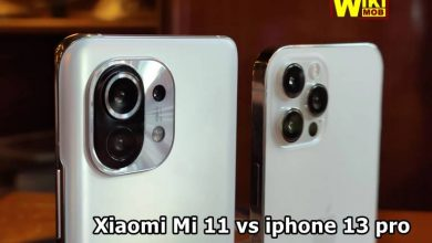 صورة مقارنة بين ايفون 13 برو ماكس وشاومي مي 11