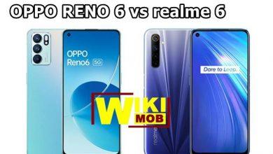 مقارنة بين اوبو رينو 6 و ريلمي 6