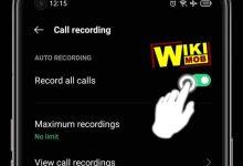 تسجيل المكالمات على اوبو