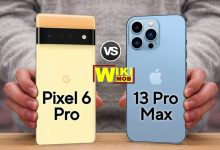 Google Pixel 6 Pro vs iPhone 13 Pro Max