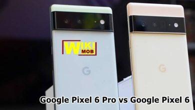 مقارنة بين جوجل بيكسل 6 و جوجل بيكسل 6 برو