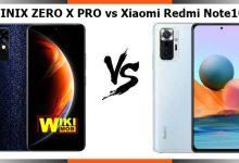 INFINIX ZERO X PRO vs Xiaomi Redmi Note10 Pro
