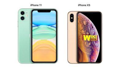 مقارنة بين ايفون 11 وايفون اكس اس
