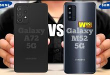مقارنة بين A72 و m52